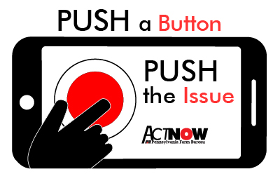 Push A Button Push the Issue logo