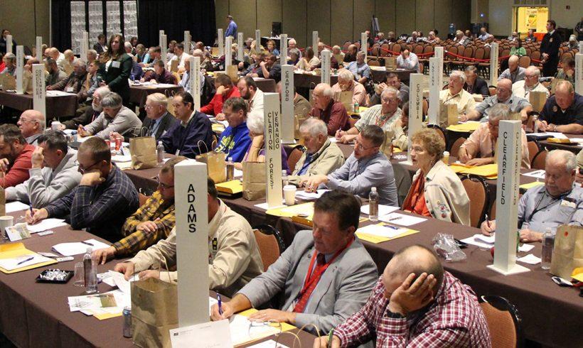 Butler County Farm Bureau Wins Top Overall Award at PFB Annual Meeting
