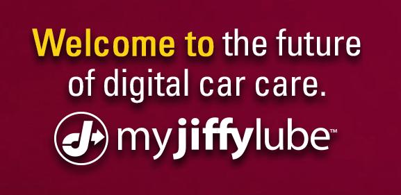 Get myJiffyLube app