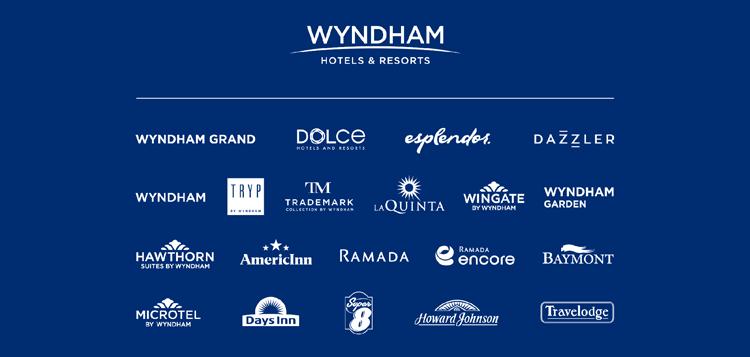 All Wyndham hotel logos