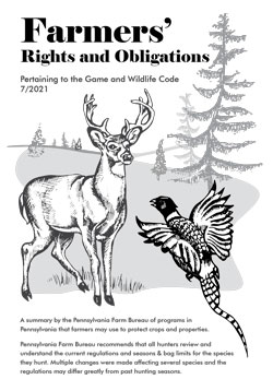 Farmers Rights and Obligations Cover